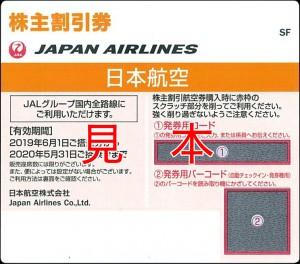 JAL株主優待券(有効期限:2020年5月31日ご搭乗分まで有効)※片道お1人様50%割引
